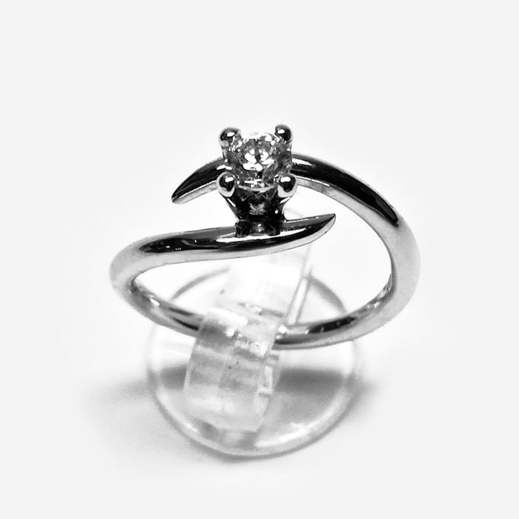 anello fidanzamento solitario