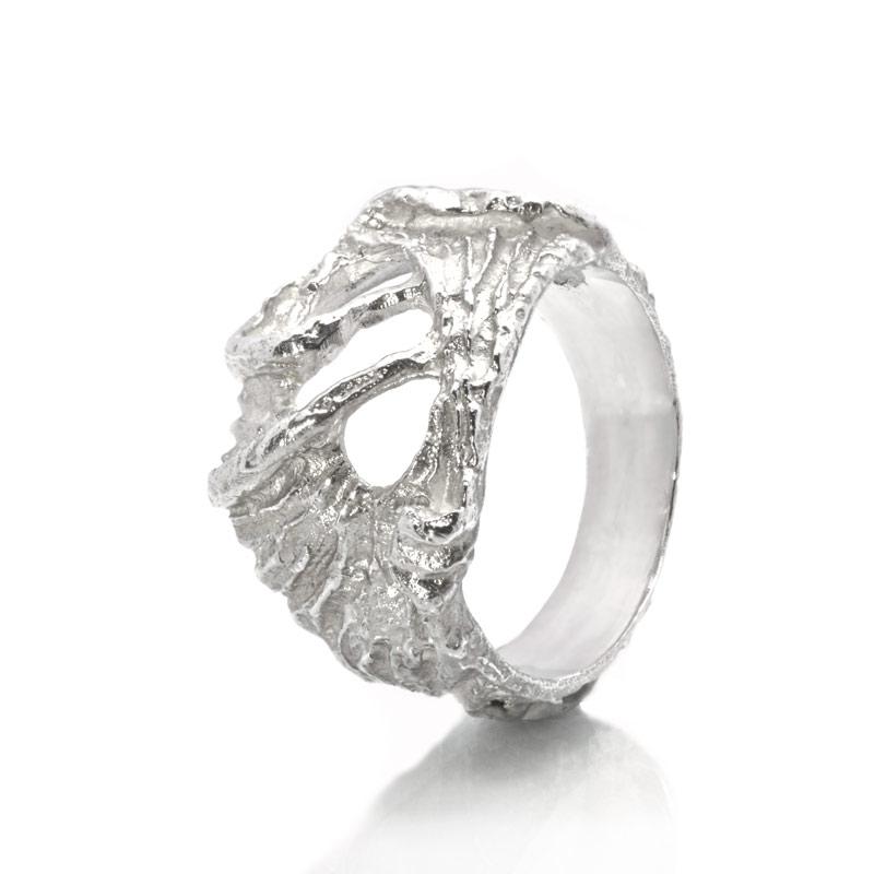 ANELLO LIBERTY: argento 925, nickel free, realizzato a mano, lavorazione Sforza