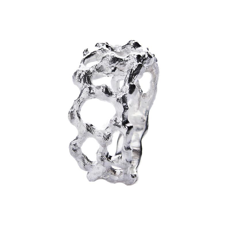 vendita anelli argento artigianali lavorazione sforza